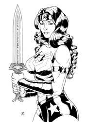 Wonder Woman 2 (2020) Inks