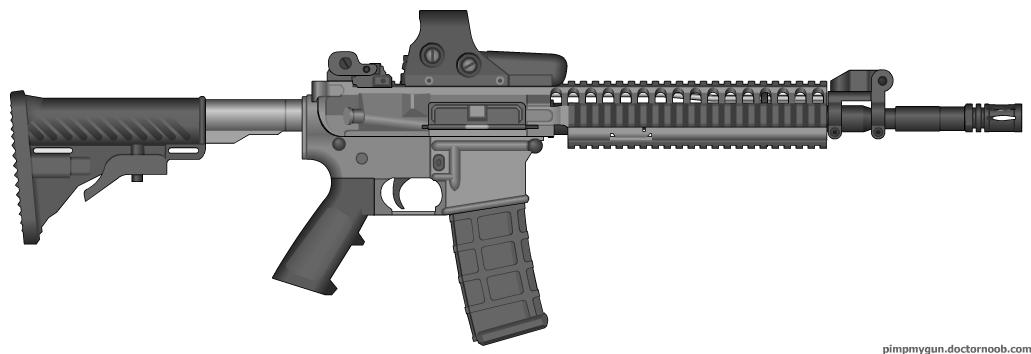 Resident Evil 5 SIG556 Assault Rifle by ScarlighterSig 556 Resident Evil 5