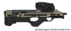 Bryon Rogers' M12 Bullpup Carbine by Scarlighter