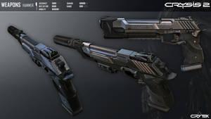 Crysis 2 Hammer Pistol