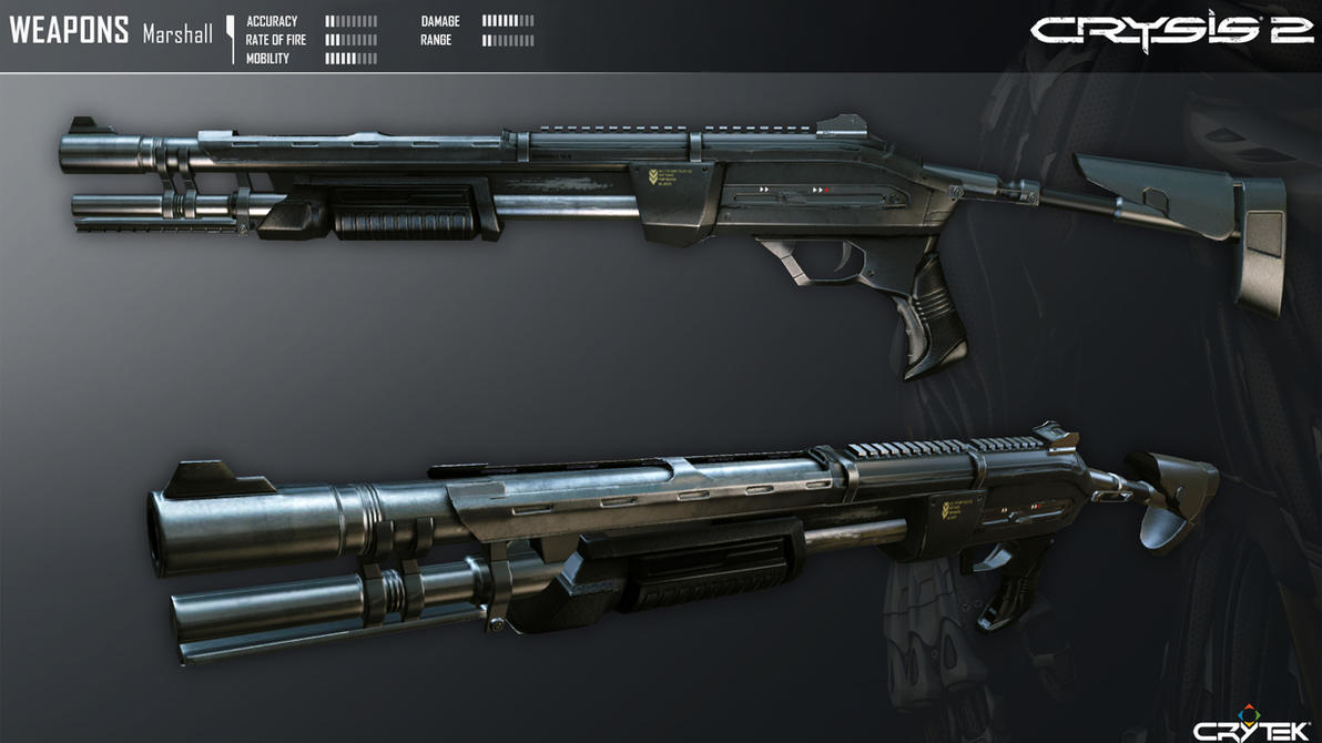 Crysis 2 Marshall Shotgun by Scarlighter
