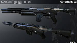 Crysis 2 Jackal Semi-Auto Shotgun