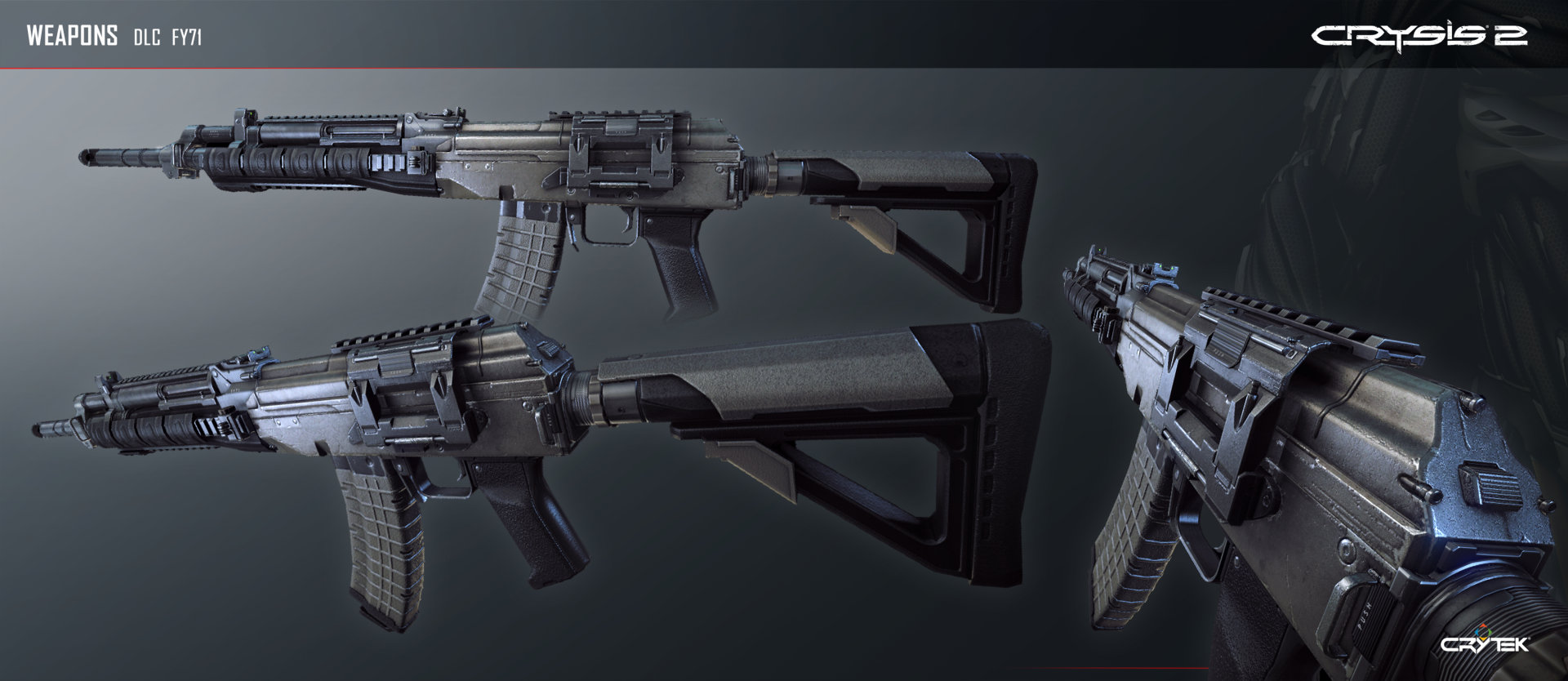 Crysis 2 FY71 Assault Rifle by Scarlighter