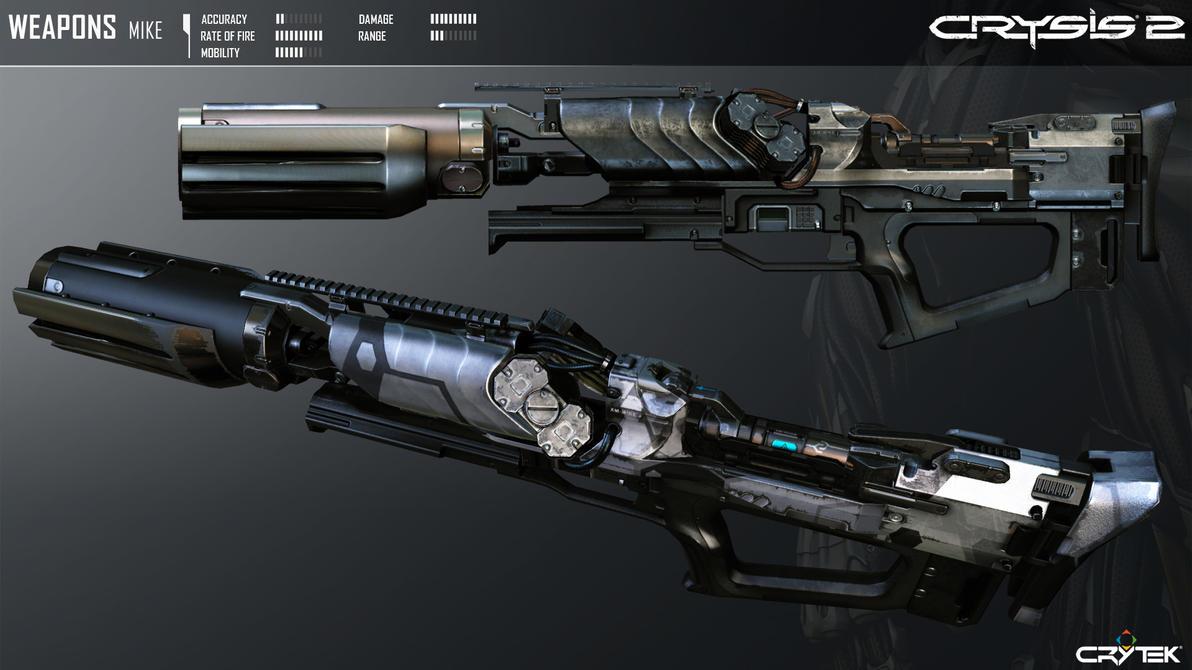 Crysis 2 X-43 MIKE Flamethrower by Scarlighter