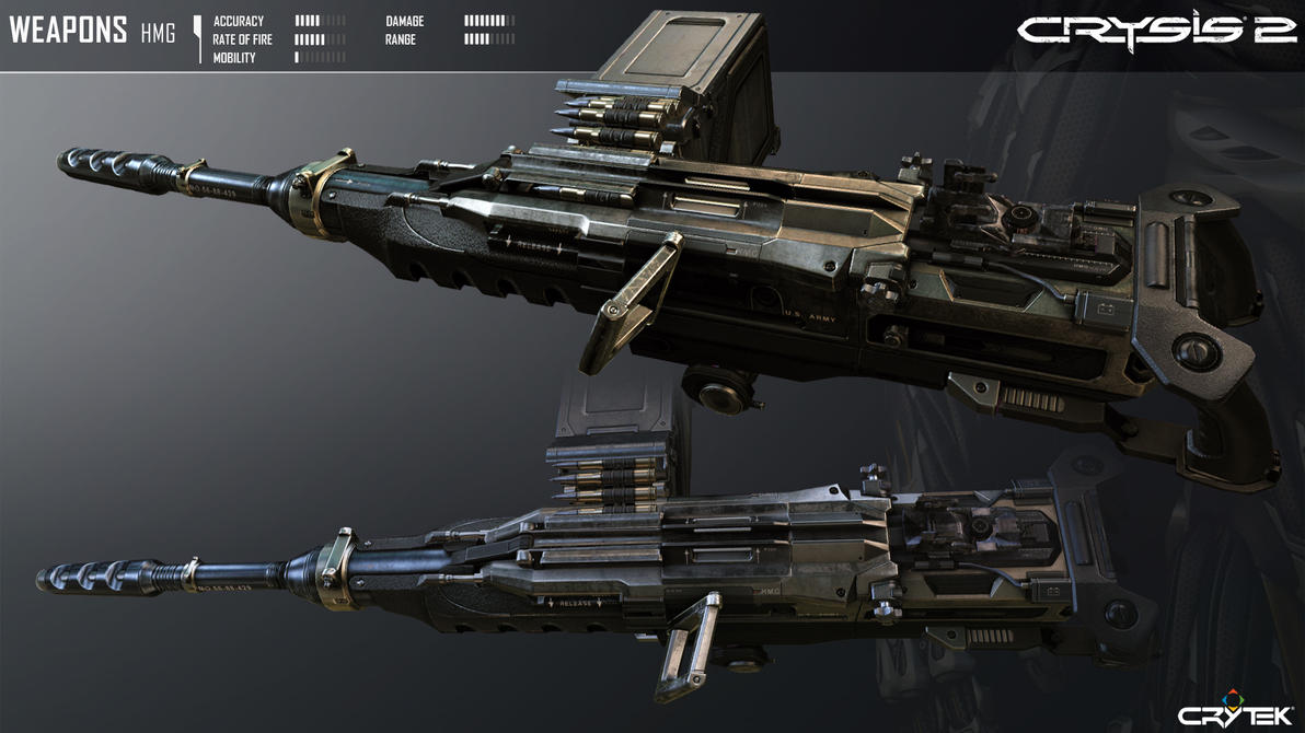 Crysis 2 Portable Heavy Machine Gun by Scarlighter
