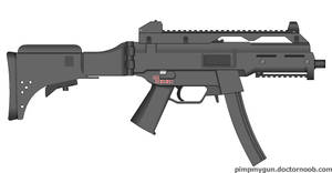 My HK UMP9 A1 Sub Machine Gun