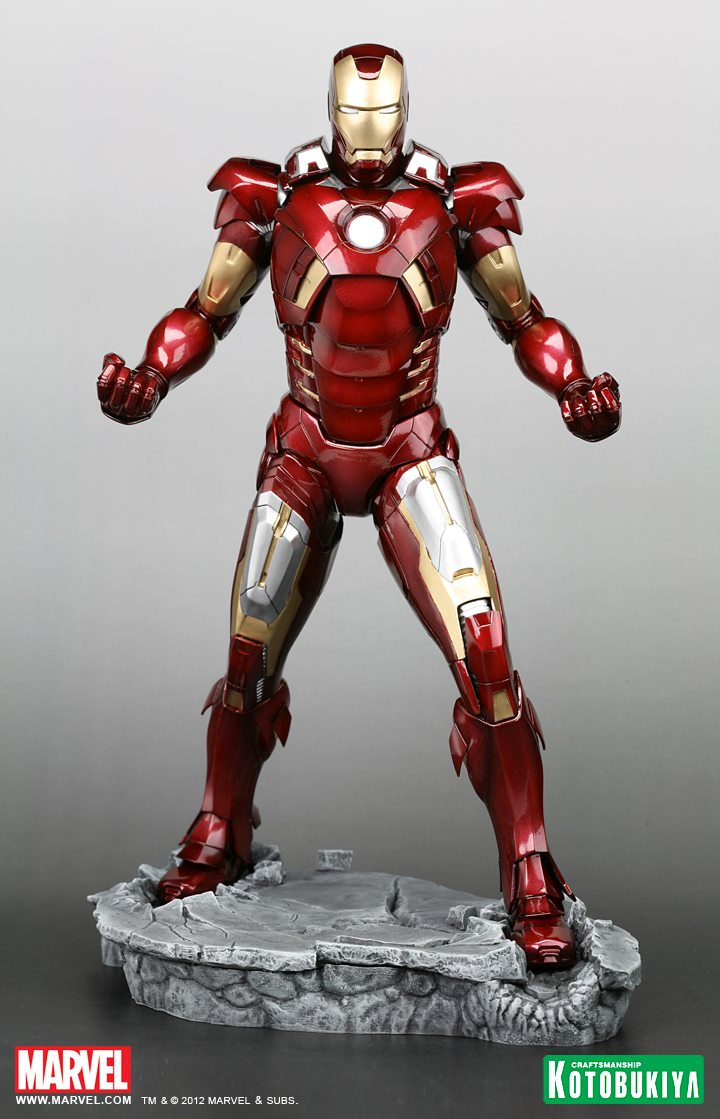 The Avengers 2012 Iron Man Mk VII Armored Suit (4) by ...