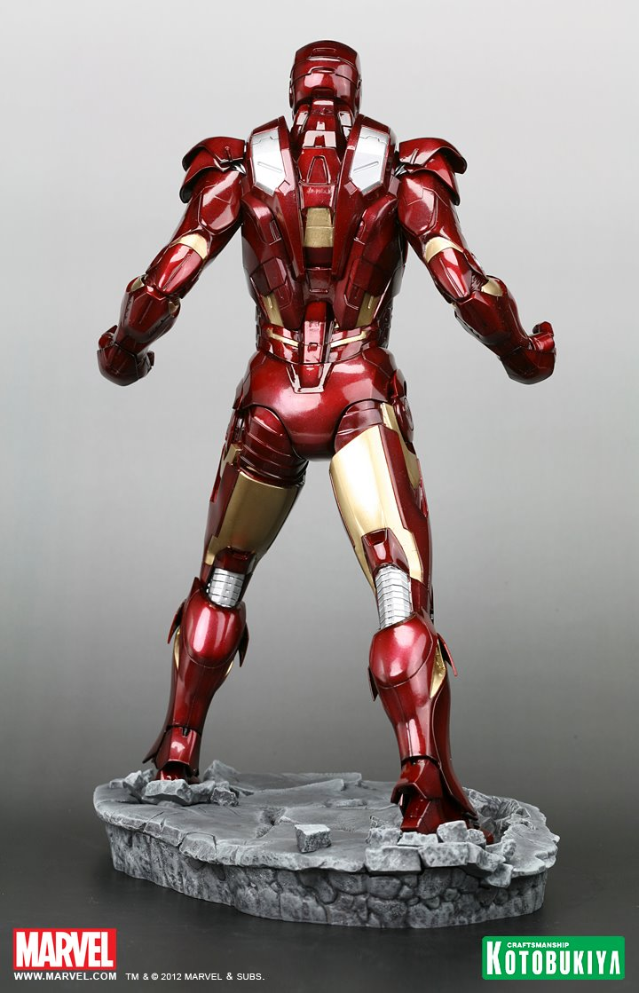 The Avengers 2012 Iron Man Mk VII Armored Suit (6) by ...