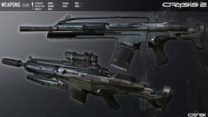 Crysis 2 Mk20 SCAR