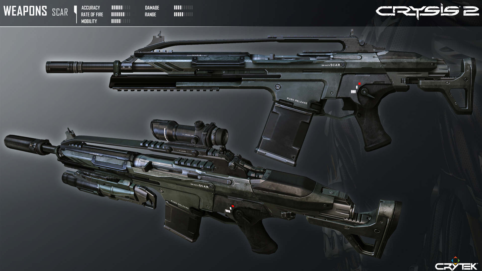 Crysis 2 Mk20 SCAR by Scarlighter