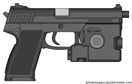 Hk Mk23 Mod0 Socom Combat Pistol By Scarlighter On Deviantart