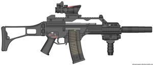 My HK G36C Black Ops CQB/PDW Rifle