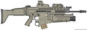 Tony Montana SCAR-Light Assault Rifle