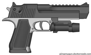Magnum Research/IWI Deagle Modern Warfare 2