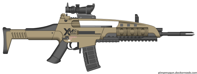 Call Of Duty - Black Ops 2 M8A1 (v 2.0, ACOG) by Scarlighter