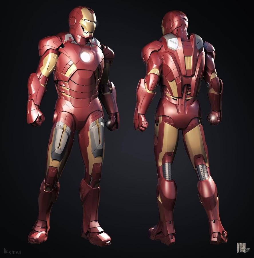 Iron Man Vii Iron Man Mark Vii 3d Iron