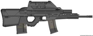 My HK Herstal OICW II (Light Assault,Launcher) by Scarlighter
