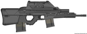 My HK Herstal OICW II (Heavy Assault,Launcher) by Scarlighter