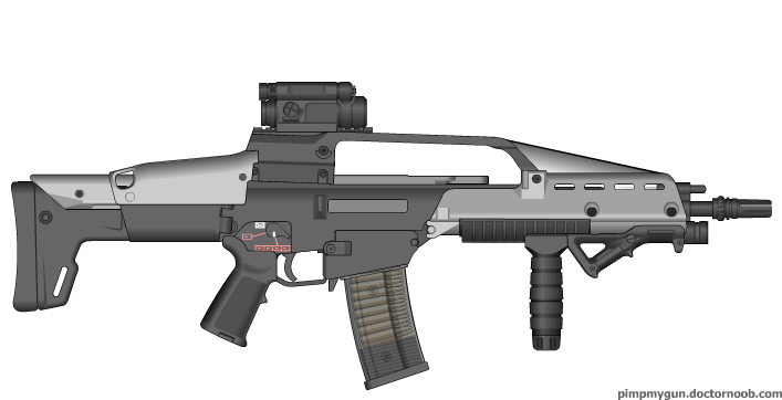 Endwar XM9 (v2.0) by Scarlighter