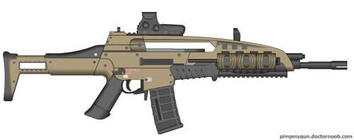 Black Ops 2 M8A1 (Final Version, Target Finder)
