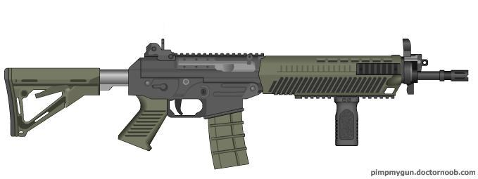 Black Ops 2 SWAT556 (Grip) by Scarlighter