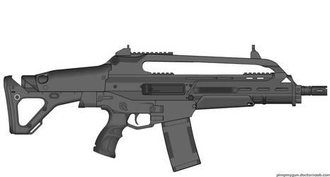 My Scrutch Industries Mk25 SCAR-C