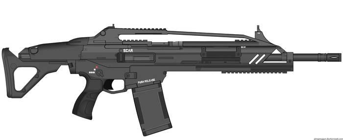Crysis Mk20 SCAR (v2.0)