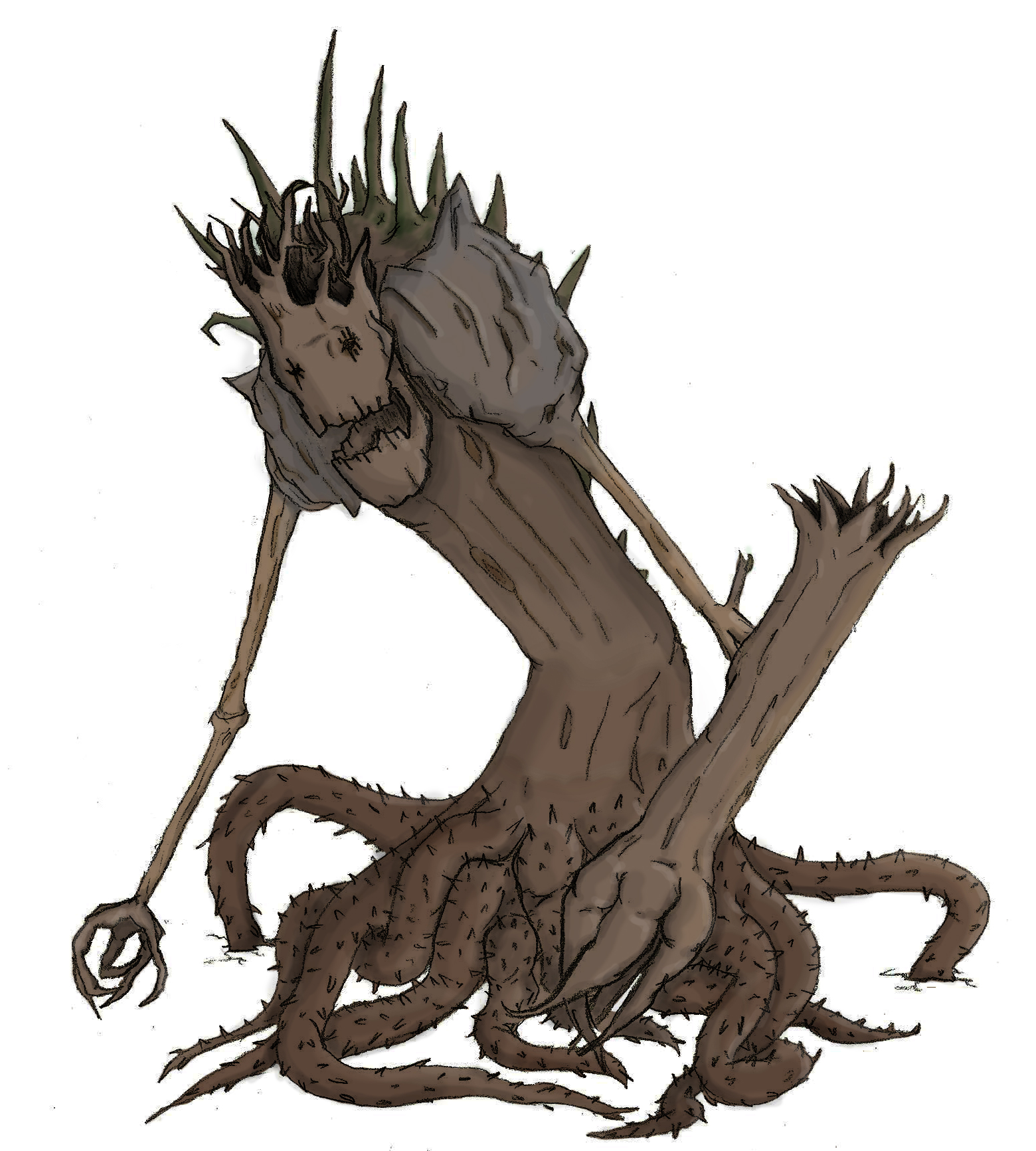 Tree Monster By Geocranium On Deviantart Free for commercial use no attribution required high quality images. tree monster by geocranium on deviantart
