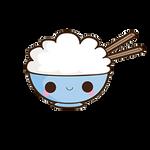 platito de arroz png