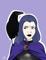 Raven Commission by SketchDai