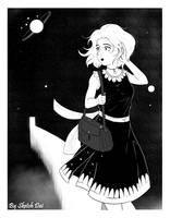 Space walkergirl by SketchDai