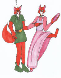Request: Robin Hood and Maid Marian Part 1 by SoniciatheHedgehog