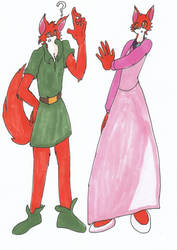 Request: Robin Hood and Maid Marian Part 2 by SoniciatheHedgehog