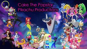 Cake the popstar pikachu birthday gift