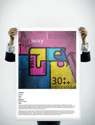 Frutiger Poster by archdeviL87
