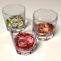 Liquor Glasses v1 by mmarti