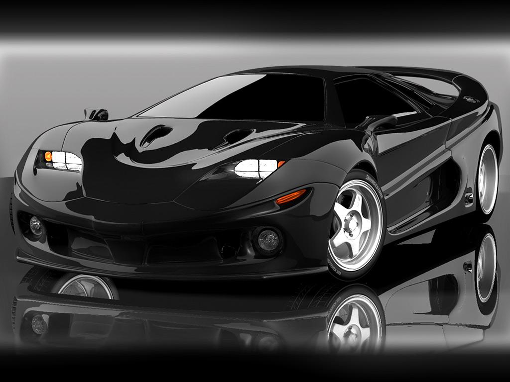 Concept car Wallpaper 02 BLACK