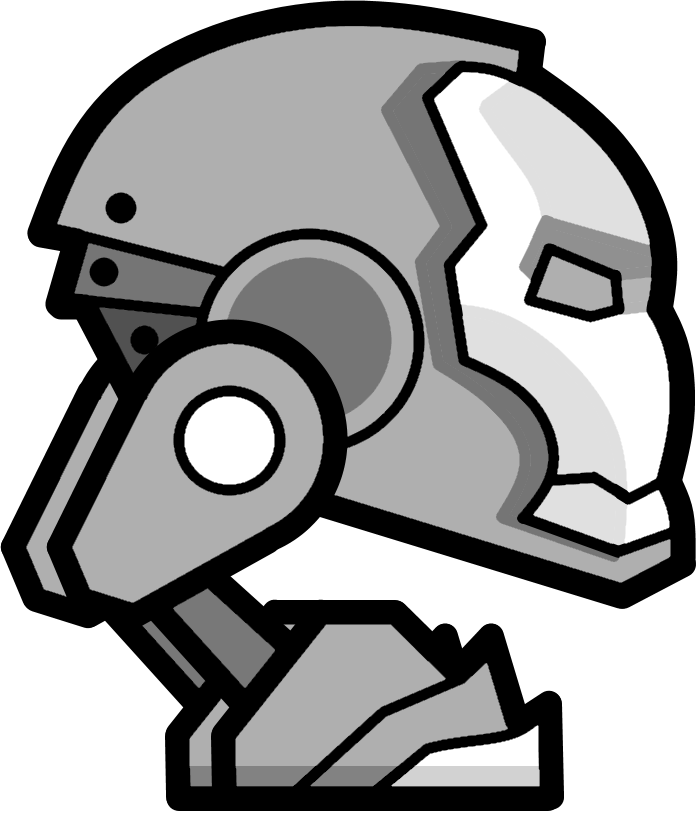 geometry dash robot - Geometry Dash Icon Coloring Pages