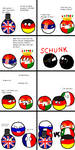 CountryBalls Comic 2: How World War I Started by befree2209