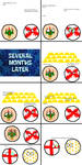 CountryBalls Comic 3: The Death of The Aztecs by befree2209