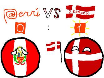 Peru VS Denmark by befree2209