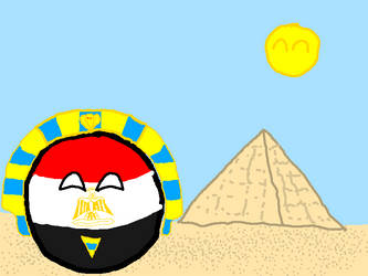 Egypt And The Pyramids by befree2209