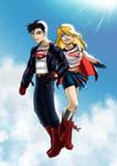 Level Hero - DC's Supergirl and Superboy I