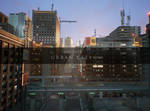 Urban Fantasy City - Background