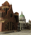 FREEBIE - Steampunk - Fantasy Town - Overlay