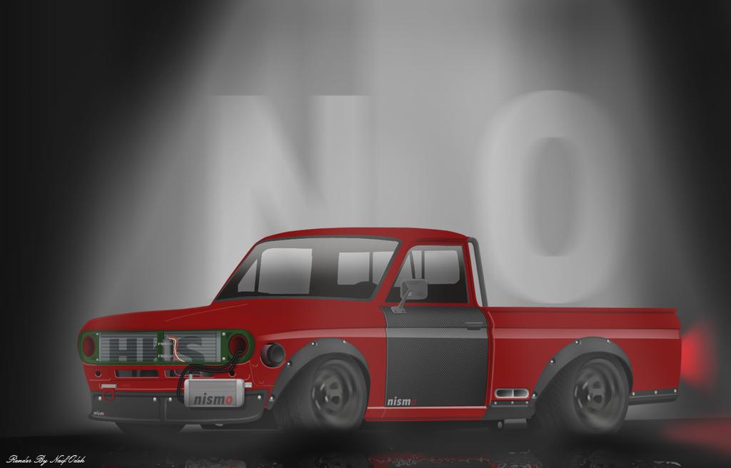 DATSUN mini truck RACING by naifodeh on DeviantArt