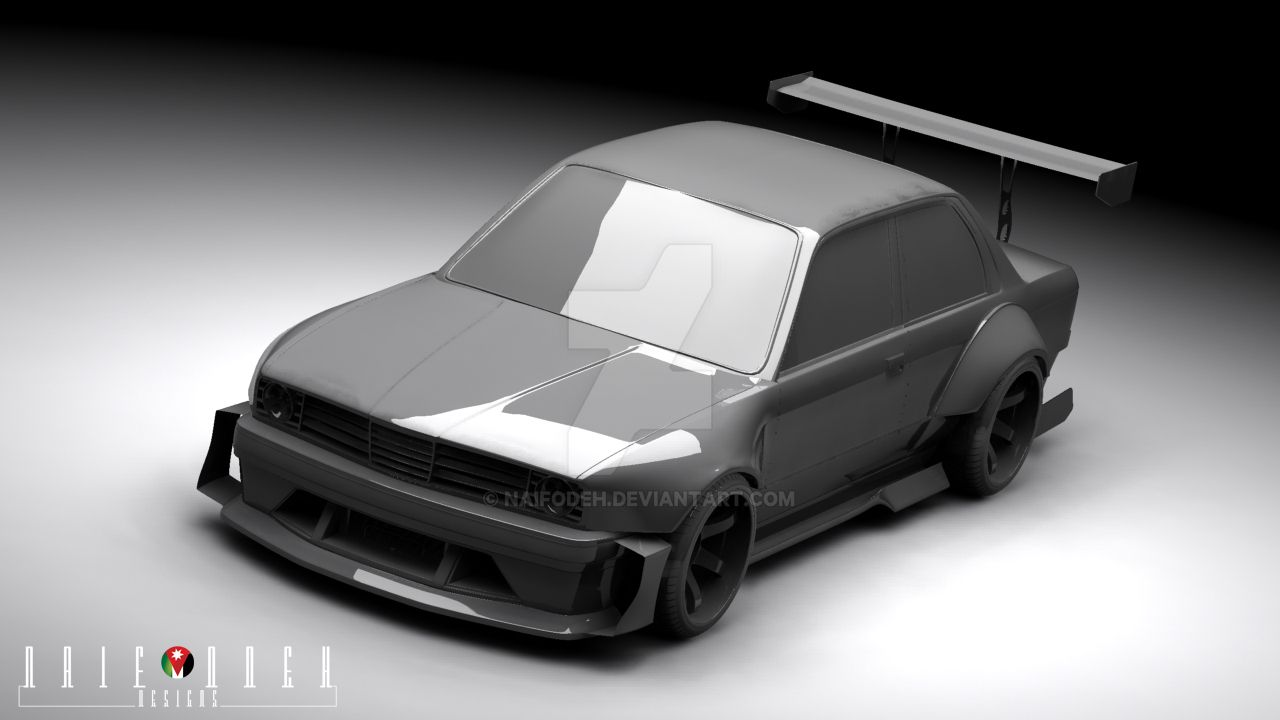 bmw e30 nod body kit fs by naifodeh on deviantart. Black Bedroom Furniture Sets. Home Design Ideas