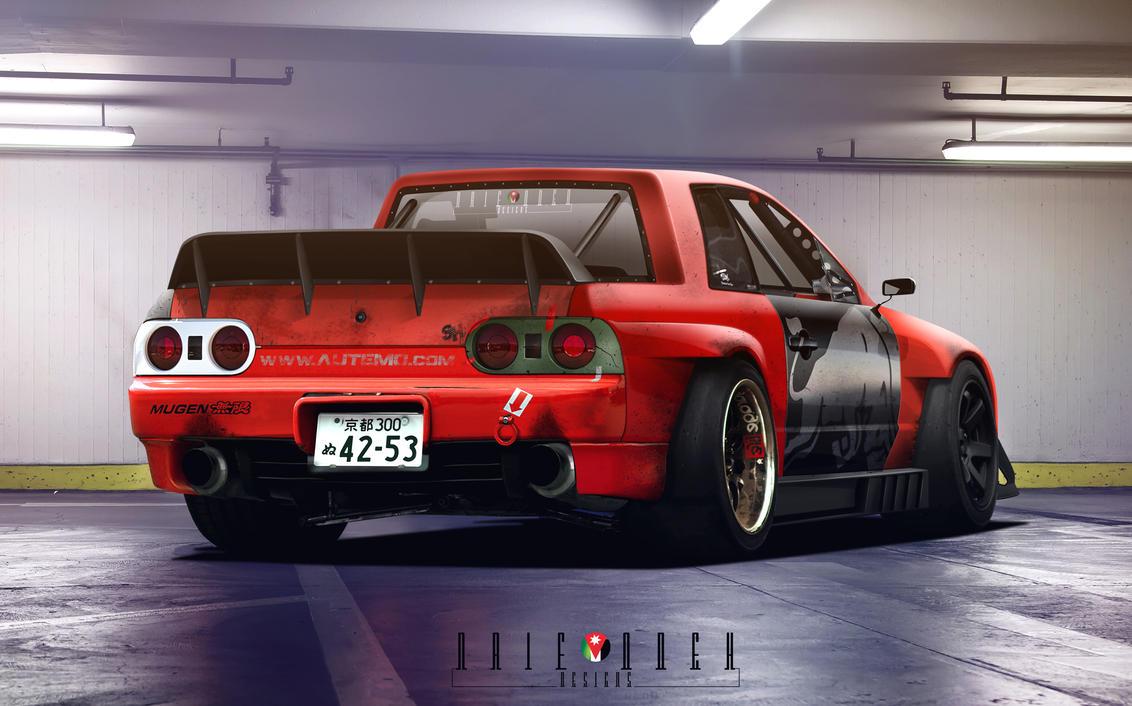 Junkyard Skyline R32 Drift Pickup by naifodeh on DeviantArt