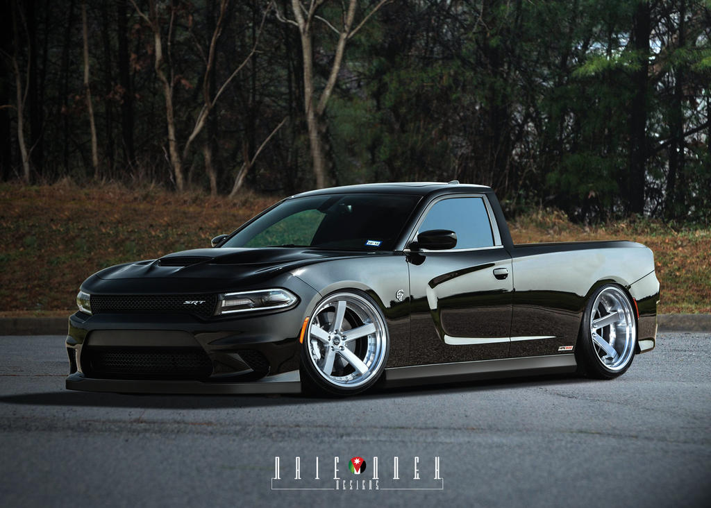 Dodge Charger Hellcat Ute By Naifodeh On Deviantart