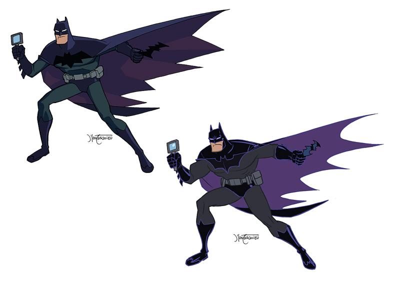 Batman Design page 02 by RC-draws